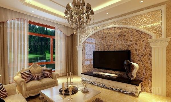 欧式风格影视墙—欧式风格影视墙应如何设计?