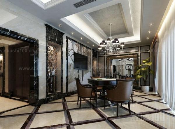挑高客厅设计—用钢结构做隔层方案