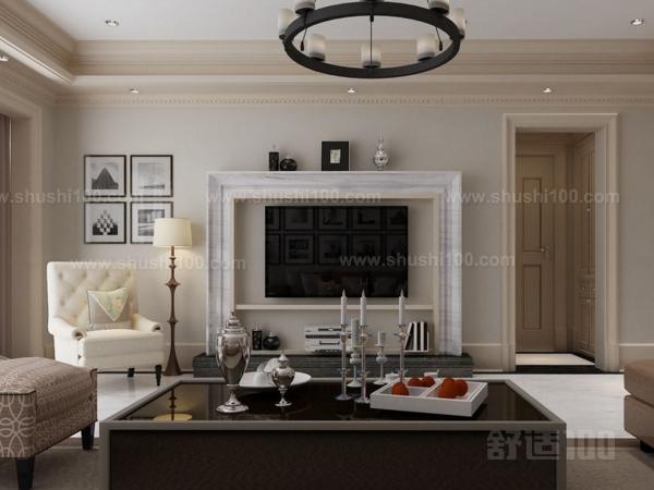 美式风格电视背景—美式电视背景墙的布线