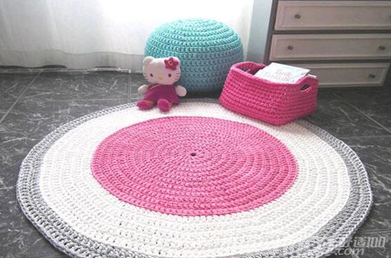 手工地垫—手工diy地垫的方法和步骤