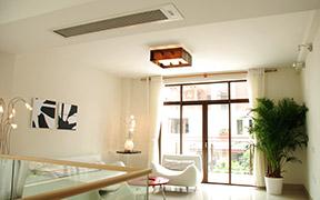 客厅中央空调效果图