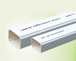 联塑PVC U排水管材系列方形雨落水管材