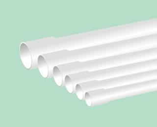 联塑PVC U排水管材系列扩直口管材
