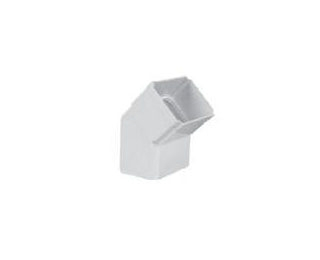 联塑PVC U方形雨落水管件系列方管泄水口