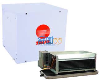 特灵冷热风型分体式水源热泵机组gesagesa048/mwd048