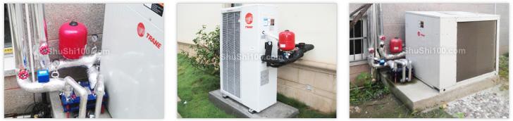 特灵中央空调水系统-五房两厅200㎡家用套餐系列