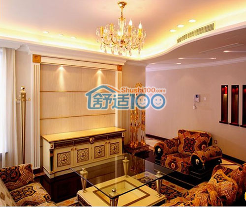图解家用中央空调主机及室内机安装位置