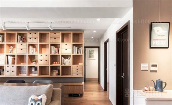 室内隔断书柜—室内隔断书柜的设计知识介绍
