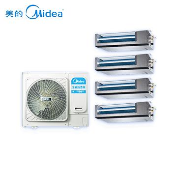 美的(Midea)家用中央空调 一拖四变频多联机 适用面积120-160㎡
