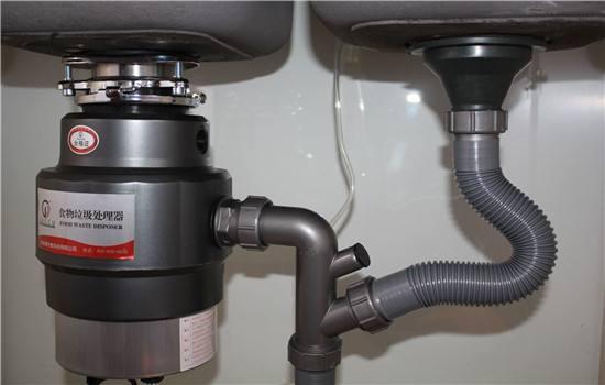 垃圾处理器出水管堵塞,垃圾处理器安装注意事项