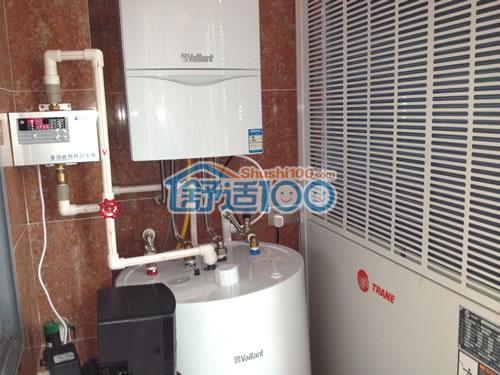 威能燃气壁挂炉,下面是生活热水水箱