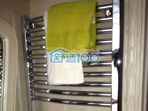 卫浴暖气片,即可采暖又可烘干毛巾衣物,一举两得