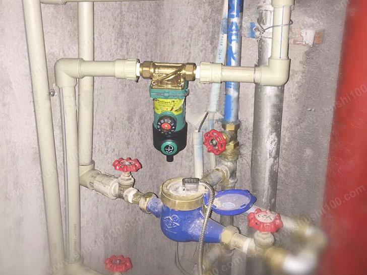 宁波万达广场·48克拉净水器安装效果图