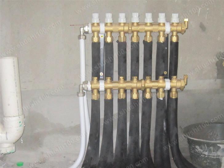 暖气片如何安装-武汉保利心语暖气片暗装工程展示
