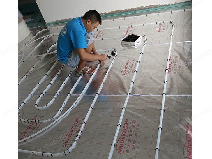 地暖安装 地暖盘管铺设