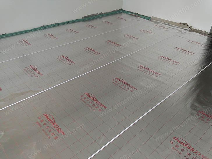 地暖安装 地暖专用反射膜铺设
