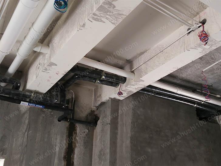 新风系统施工图 冷凝水管保持一定坡度