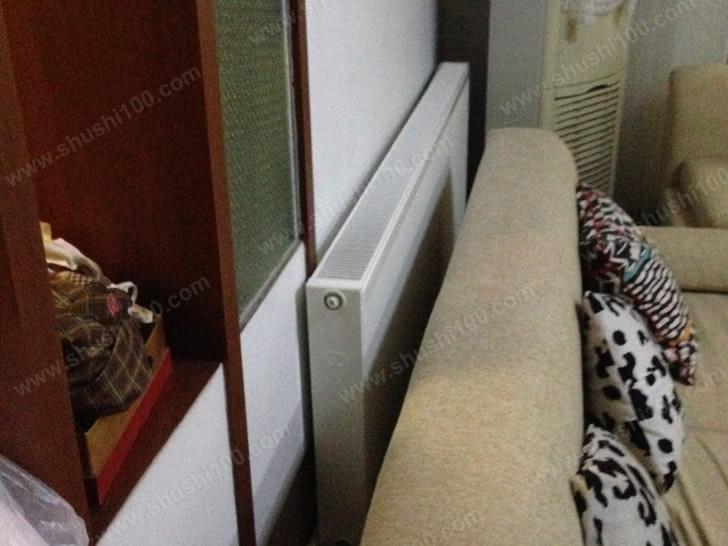 三室两厅明装采暖安装工程—武汉香江花园暖气片工程案例