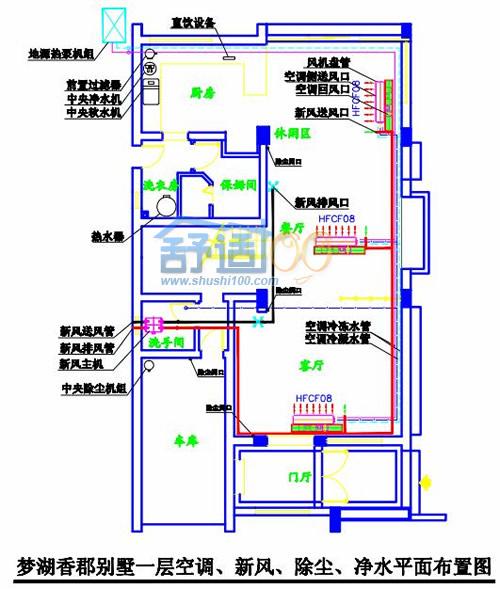 梦湖香郡别墅地源热泵工程实例-高端享受节能又舒适