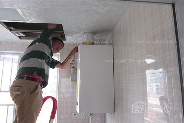 地暖安装后期工程展示-直击保利中央公馆壁挂炉安装现场