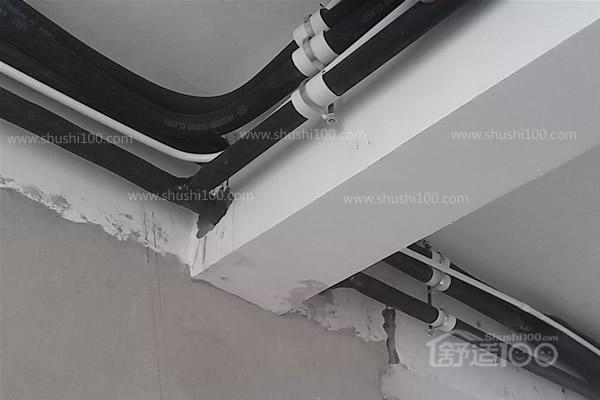 武汉金龙公馆中央空调安装实例-专业服务打造清凉家园