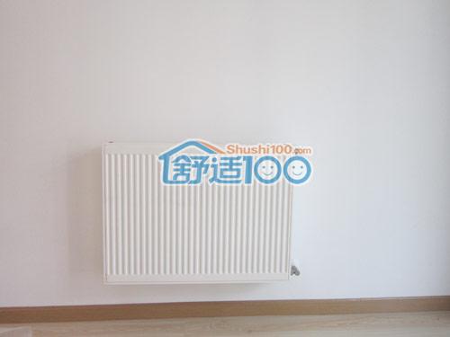 武汉暖气片安装工程-梅南山居德美拉得暖气片安装现场