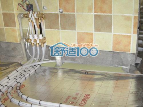 """武汉巢上城锦园地暖系统工程案例-用""""温暖""""孝敬父母"""