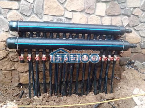 武汉保利十二橡树地源热泵、新风、净水、除尘集成安装工程案例