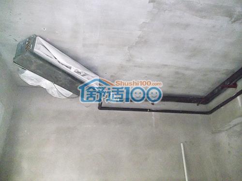 武汉恒大金碧天下风管安装工程案例-打造舒适宜居美墅